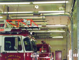 Infrared Fire Station Installation