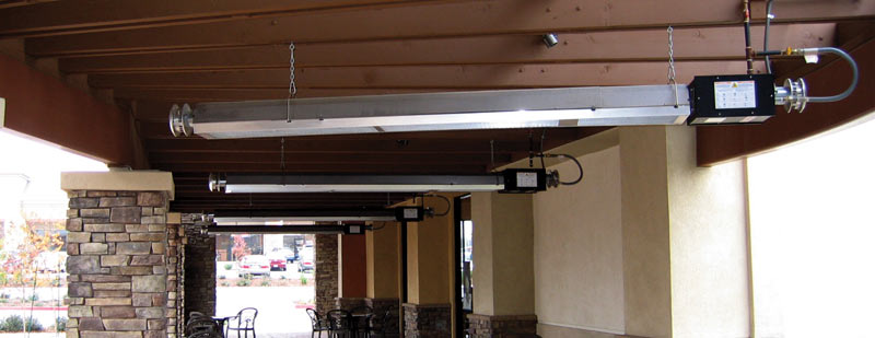 infrared heater outdoor patio