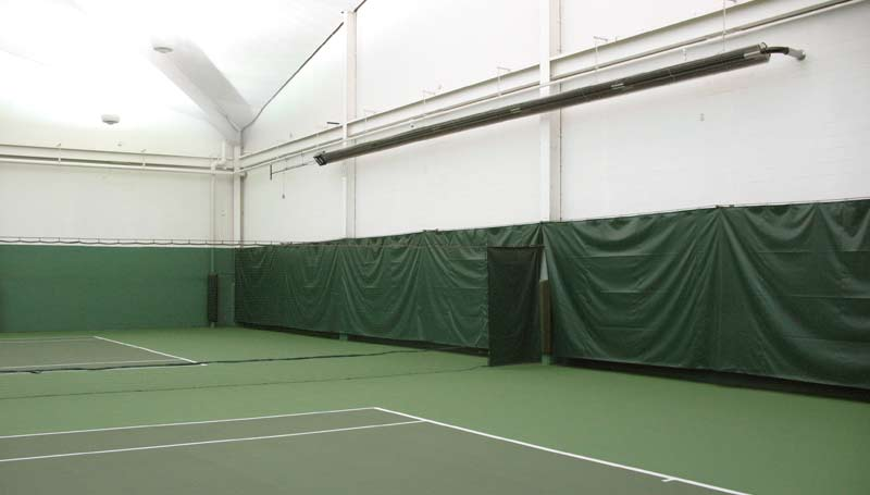 Tennis Court Infrared Heaters