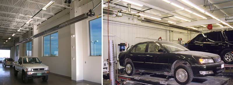 Vehicle Maintenance and Car Storage Infrared Heaters