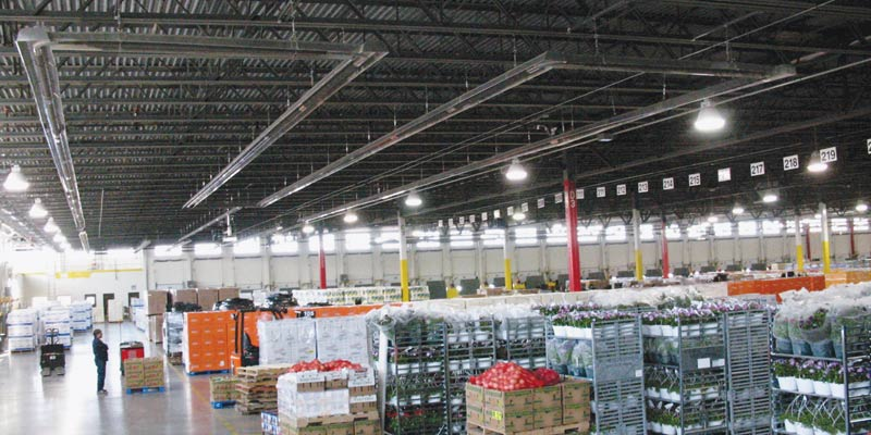Warehouse Infrared Heating System