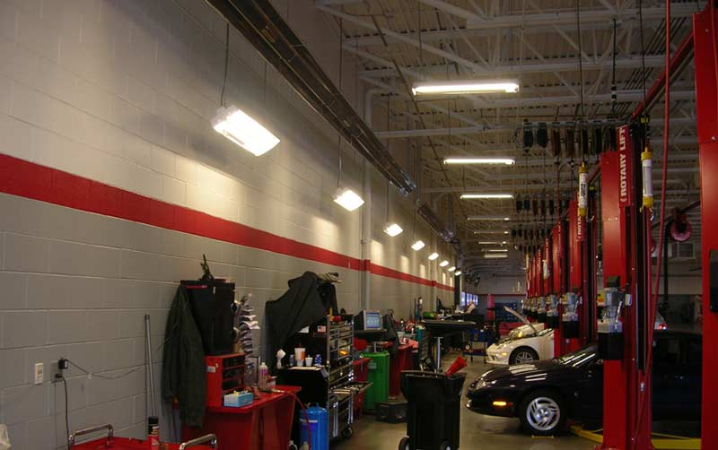 Car Repair Shop Infrared Heaters