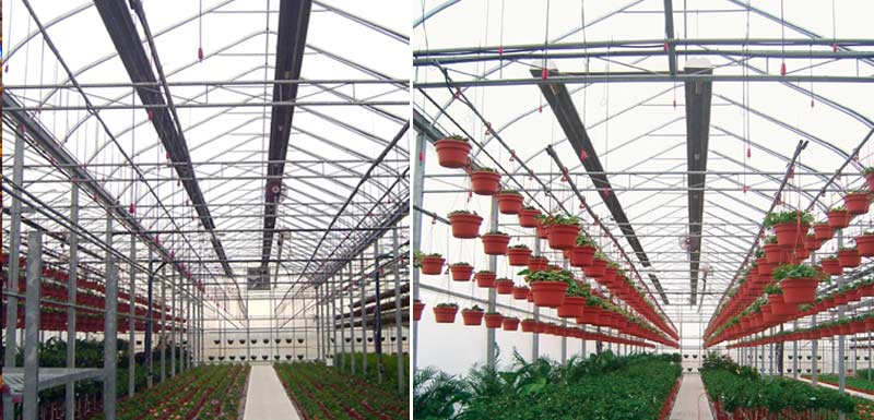 Infrared Heater Greenhouse