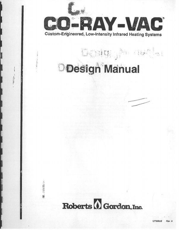 CoRayVac® Design Manual Cover